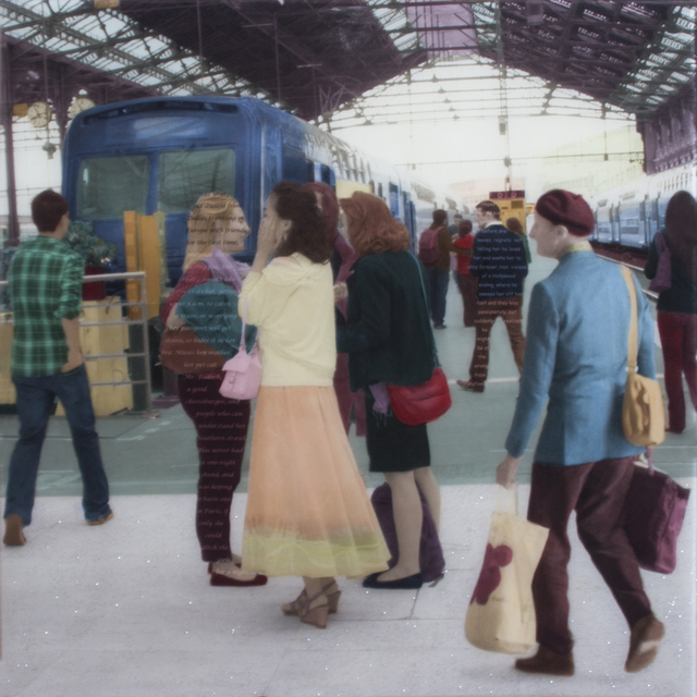 , 'Now Boarding Track 11,' 2015, Sue Greenwood Fine Art