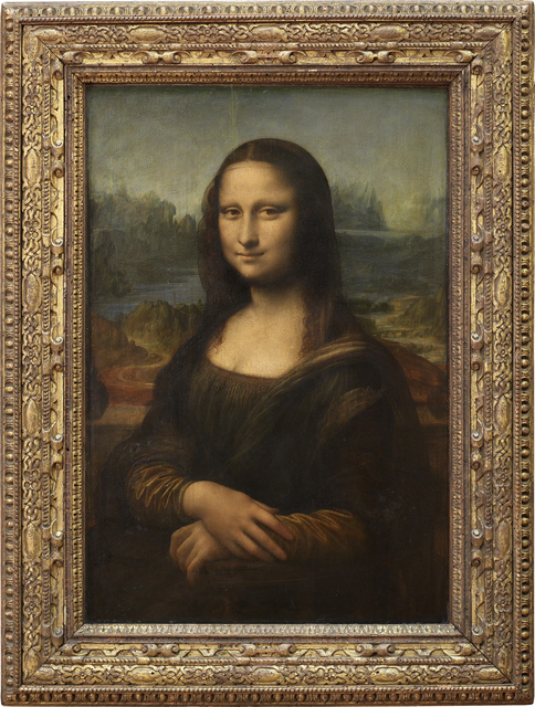Leonardo da Vinci, 'Épouse de Francesco del Giocondo, dite Mona Lisa, ou la Joconde (Wife of Francesco del Giocondo, called Mona Lisa, or la Joconde)', 1503-1506, Musée du Louvre