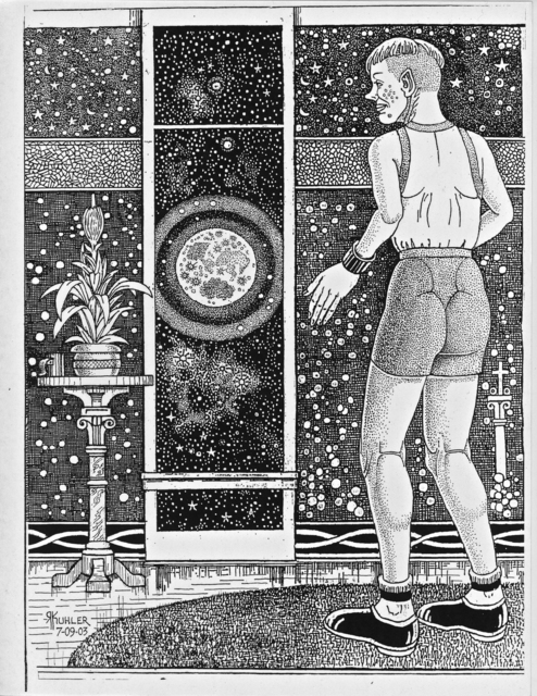 Renaldo Kuhler, 'Peekle Facing the Universe', 2003, Ricco/Maresca Gallery