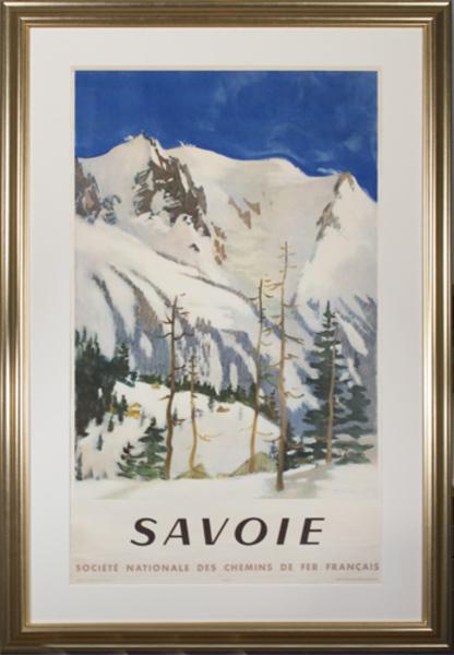 , 'Savoie (Societe Nationale des Chemins de Fer Francais),' 1948, David Barnett Gallery