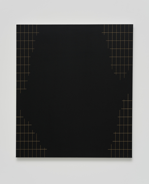, 'Sem título (grade com grande recorte) [untitled (grid with large trim)],' 2017, Casa Triângulo