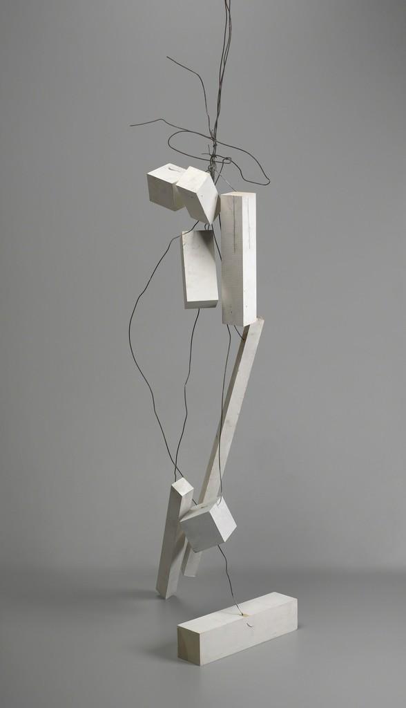 Joel Shapiro, Untitled, 2002. Painted wood and wire. Yale University Art Gallery, Janet and Simeon Braguin Fund. © Joel Shapiro/Artists Rights Society (ARS)