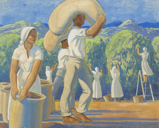 Rockwell Kent, 'Plantation in Sao Paulo, Brazil', ca. 1945, Childs Gallery