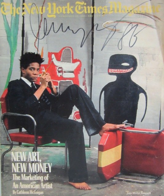 Jean Michel Basquiat The New York Times Magazine 1985 Artsy