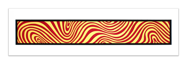 , 'Red and Yellow, from: Wavy Irregular Bands,' 1996, Cristea Roberts Gallery