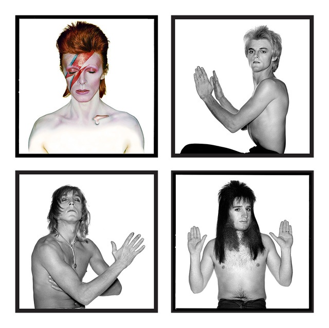 , 'David Bowie: Ziggy Stardust and the Spiders from Mars (Full Group),' 1972, Gallery Vassie