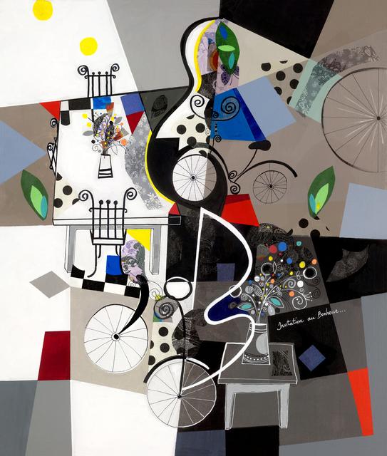 , 'Invitation au bonheur,' 2016, Eden Fine Art