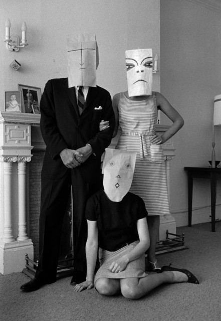 , 'Untitled. (from the Mask Series with Saul Steinberg),  Photograph by Inge Morath © The Inge Morath Foundation/MAGNUM PHOTOS. Mask by Saul Steinberg © The Saul Steinberg Foundation/ARS, NY,' 1962, Magnum Photos