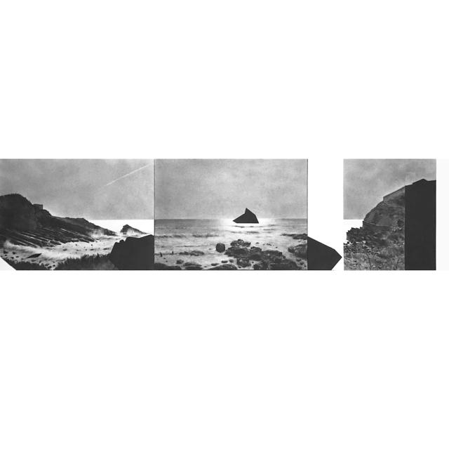 , 'Zones Littorales (Triptych),' 2019, Jean-Louis Ramand
