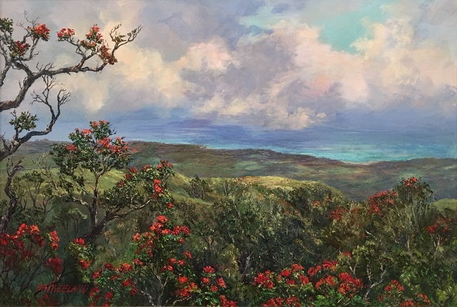 , 'Ohia Lehua Forest,' ca. 2018, Tiffany's Art Agency