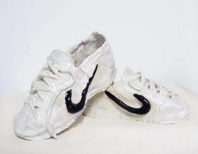 , 'Killer Shoes (Hernán Cortés) #2,' 2017, Chicago Artists Coalition