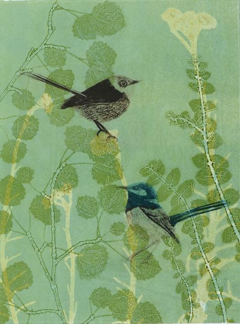 , 'The shy wrens hiding in the garden,' 2019, Queenscliff Gallery & Workshop