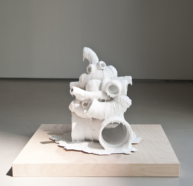 , 'White Discharge (White Pipes),' 2015, Jane Lombard Gallery