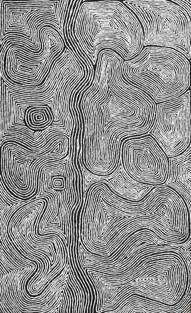 Warlimpirrnga Tjapaltjarri, 'Untitled - Men's Story', 2018, Gannon House Gallery