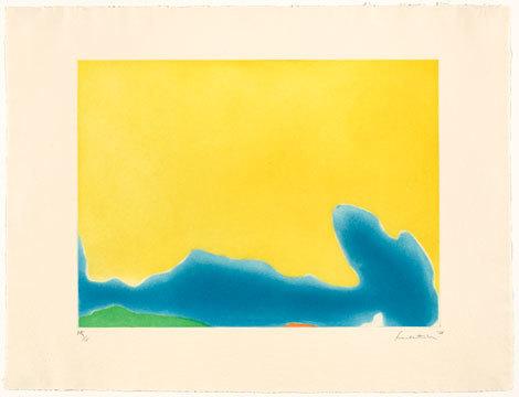, 'Yellow Span,' 1968, Helen Frankenthaler Foundation
