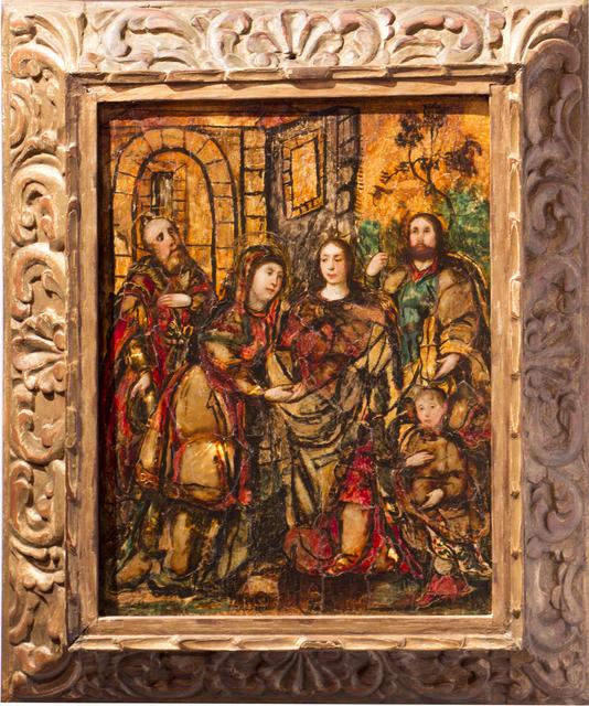 , 'La visitación,' Siglo XVII, Mario Uvence