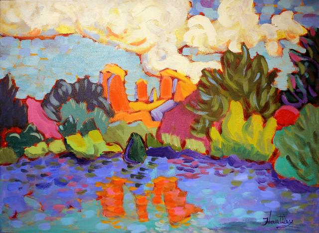 ", '""Red Reflection"",' 2018, Bonner David Galleries"