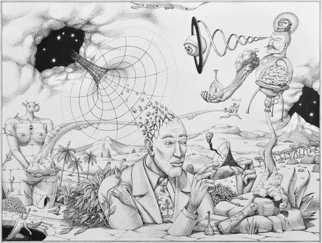 , 'The Scientific Experiment,' 2015, Jonathan LeVine Projects