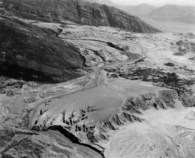 , 'Landslide-debris-flow area, looking east toward Spirit Lake. Five miles North of Mt. St. Helens,' 1982, Etherton Gallery