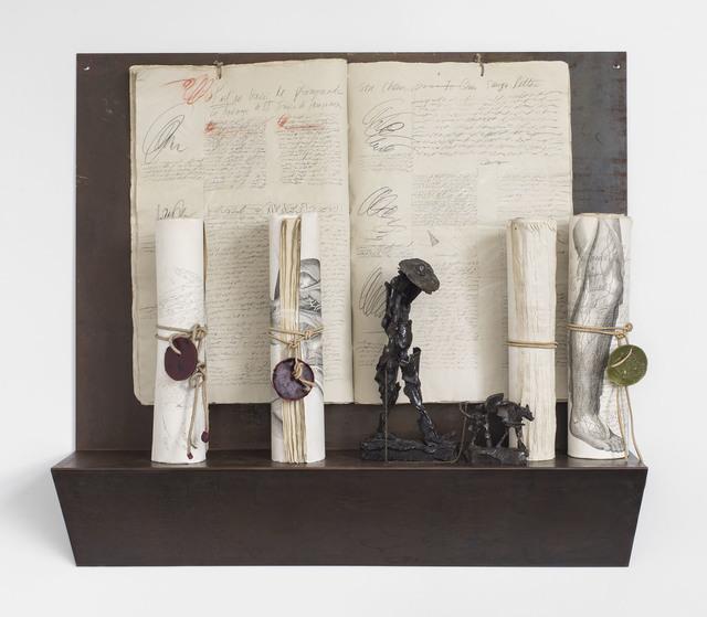 , 'Poet Walking His Dog,' 1994, Michael Rosenfeld Gallery
