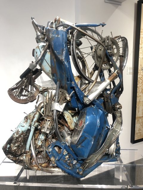 César, 'Compression de deux mobylettes ', 1970, Gloria Gallery