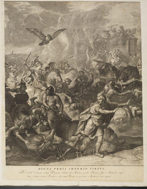 Charles Le Brun, '[Battle of Arbelles]', 1724, Getty Research Institute