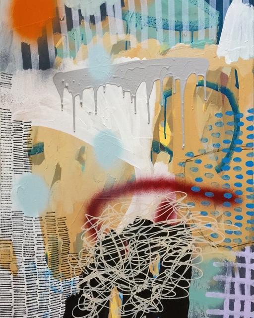 Victoria Huckins, 'Gray Matter, No. 3', 2017, The Blue Azul Collection