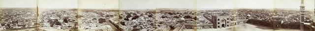 , 'Panorama of Delhi taken from the Jamma Masjid.,' 1858, Roland Belgrave Vintage Photography Ltd