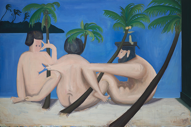 , 'Untitled (The Relationship between Male Nude with Male Nude, Male Nude with Female Nude, and Female Nude with Male Nude),' 2016, Magician Space