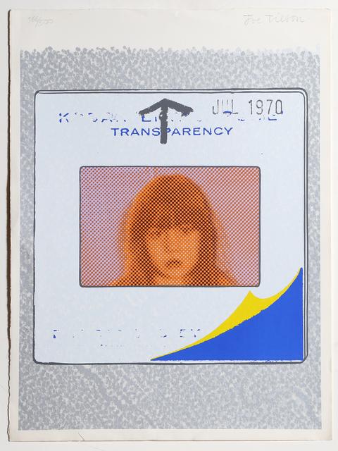 Joe Tilson, 'Transparency', 1970, RoGallery