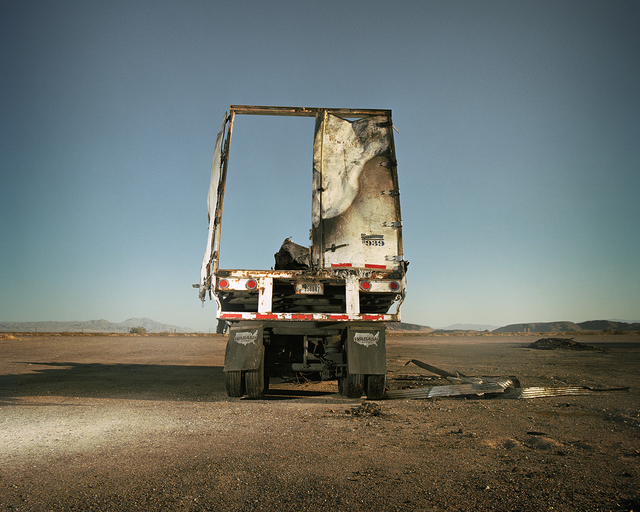 , 'Burned Out Truck,' 2011, De Re Gallery