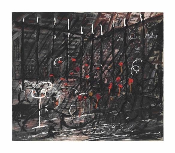 Anselm Kiefer, 'Des Malers Atelier', Christie's