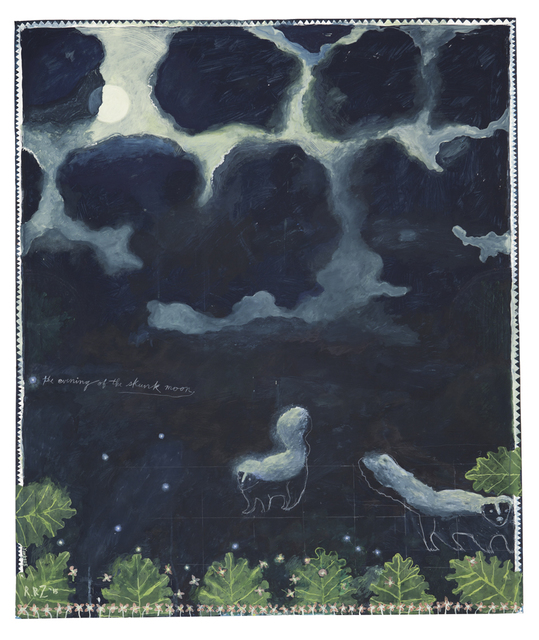 , 'The Evening of the Skunk Moon,' 2015, Nancy Hoffman Gallery