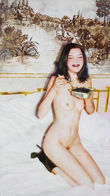 , 'Pasta al nero di seppia,' 2012, Alfonso Artiaco