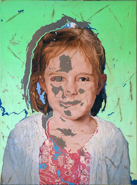 , 'Portrait of a Girl 4,' 2018, Elizabeth Houston Gallery