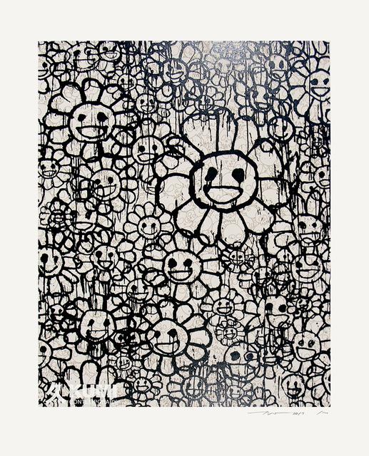 Takashi Murakami, 'Murakami x MADSAKI Flowers Beige C', 2017, Kumi Contemporary / Verso Contemporary