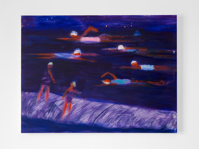 , 'NightTime Swimmers,' 2018, Dio Horia