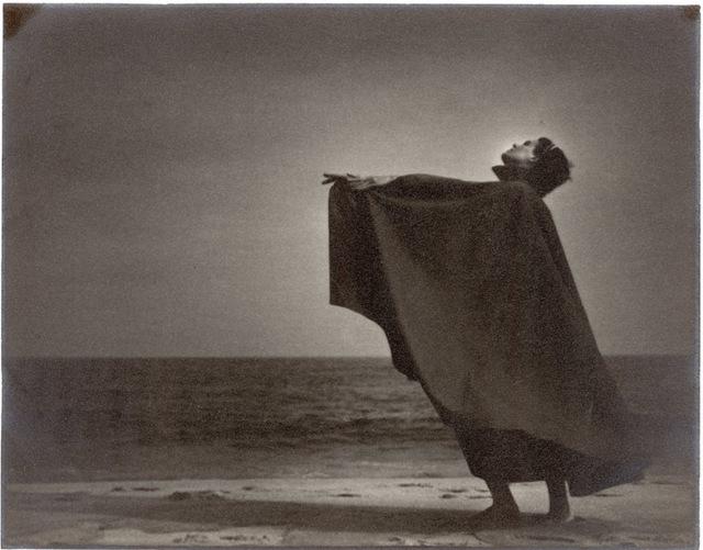 Gjon Mili, 'Dark Moody Dancer on Beach from Anita John School', 1936, Contessa Gallery