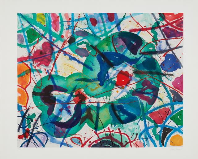 Sam Francis, 'Trietto 5', 1991, Phillips