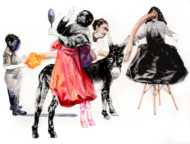, 'Ses jours ensoleillés par ma flamme,' 2018, Loft Art Gallery