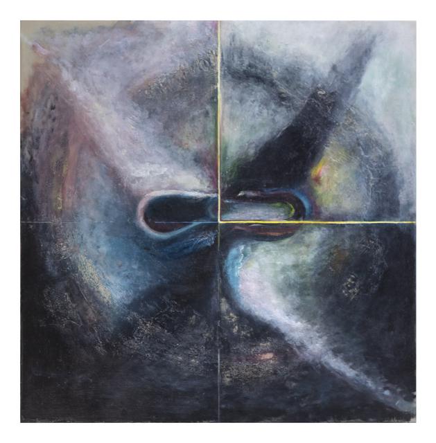 R. H. Quaytman, '+ ×, Chapter 34', 2018, Guggenheim Museum