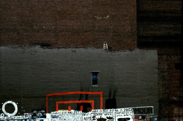 , 'Tribeca, wall, ladder & graffiti, New York,' 1984, GALLERY FIFTY ONE