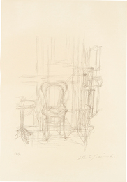 Alberto Giacometti, 'Chaise et guéridon (Chair and Guéridon),' 1960, Phillips: Evening and Day Editions