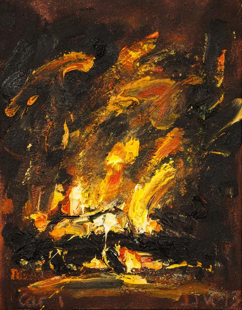 John Keane, 'Car (1)', 1993, Flowers