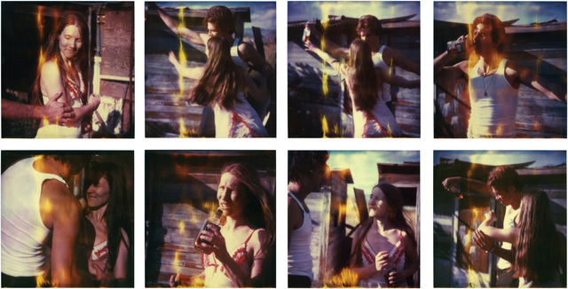 Stefanie Schneider, 'Whisky Dance I', 2005, Photography, 8 digital C-Prints, on Fuji Crystal Archive Paper, matte surface, based on 8 expired Polaroids, Instantdreams