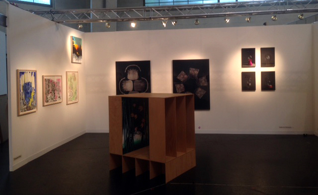 installation view booth B 26