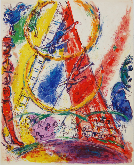 Marc Chagall, 'The Trapeze Artist', 1967, Baterbys