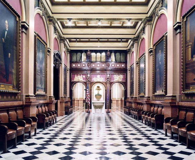 Candida Höfer, 'Mason Temple Philadelphia IV 2007', 2007, Sean Kelly Gallery