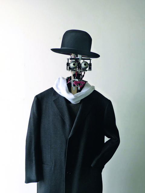 """, 'Berenson, """"art lover"""" robot,' 2011 -present, Musée du quai Branly"""
