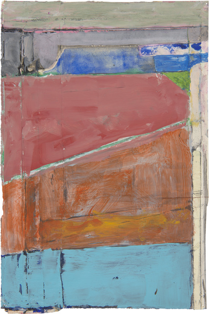 , 'Untitled,' c. 1988–1992, Richard Diebenkorn Foundation